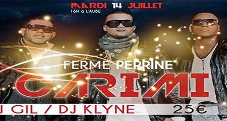CARIMI en LIVE à la FERME PERRINE !! – Agenda Soirees  Martinique – 14 juillet 2015