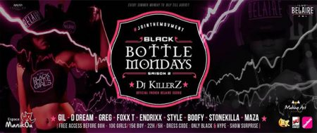 A l'espace Manikou: BLACK BOTTLE MONDAYS