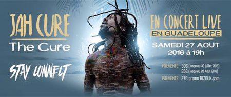 Au Palais des Sports de pointe à pitre : Show Live Jah Cure – Agenda concert Guadeloupe