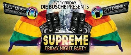 Berlin: SUPREME – FRIDAY NIGHT PARTY- Tous les vendredis