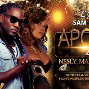 DOMAINE DE L'OASIS APOTHÉOSE LIVE 2 – Agenda soirées Martinique