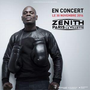 Kery James en concert au Zenith de Paris 30 Novembre