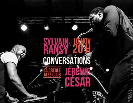 Concert Jazz : «Conversation» – Agenda soirées Guadeloupe 10 novembre