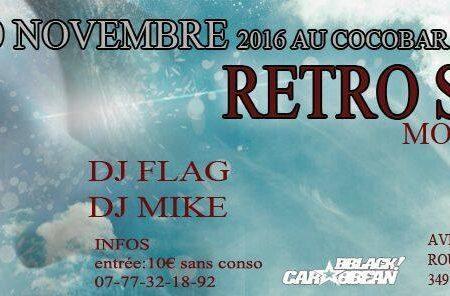 RÉTRO SI TOL – Agenda soirées antillaises Montpellier – 10 Novembre