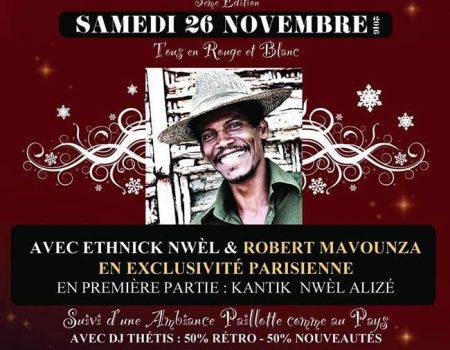 La Grande Soirée de Lancement : Chanté Nwel en Ile de France 3ème Edition – Chanté Noel Paris 26 novembre