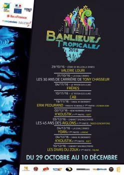 Le Festival Banlieues Tropicales met en lumière depuis 5 ans la diversité des musiques antillaises et tropicales