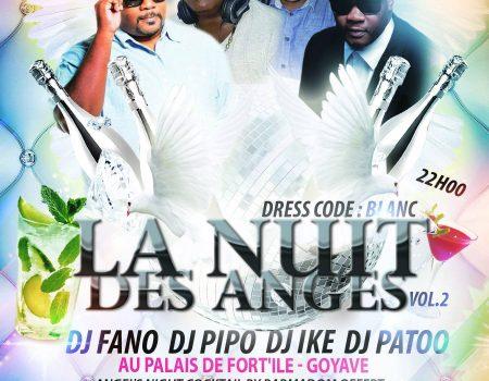 LA NUIT DES ANGES 2ème Édition – Agenda soirée Guadeloupe 12 novembre