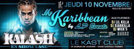 Au Kast Club:  KALASH EN SHOW CASE – Chateau Thierry 10 novembre(02)