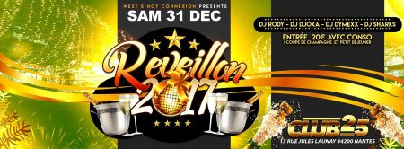 Club 25 Nantes – Agenda réveillon antillais/tropical Nantes