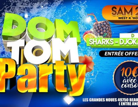 Au Choclate ( ex DOREMI ): DOM TOM PARTY – Agenda soirées Angers