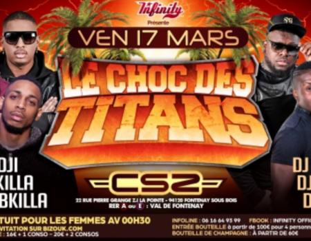 LE CHOC DES TITANS AU CLUB SECTION ZOUK – Agenda soirées antillaises paris