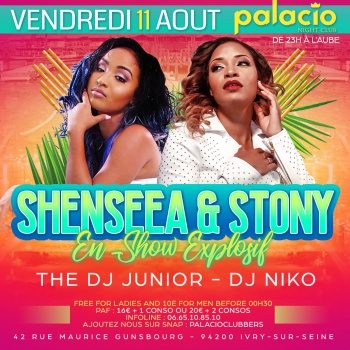 Shenseea&Stony: Region France
