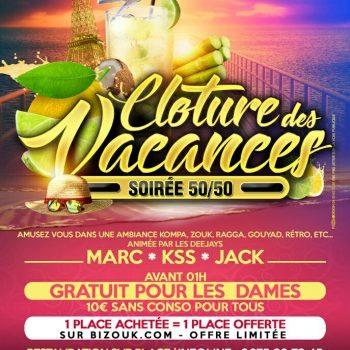 ClotureDesVacances: Paris