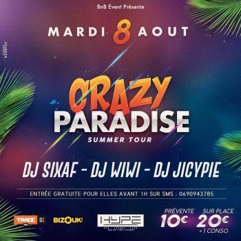 CrazyParadiseSummerTour: Guadeloupe