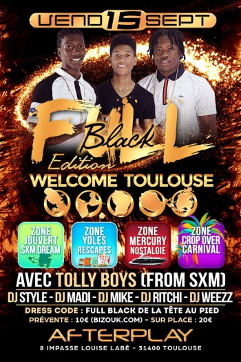 FullBlackParty: Toulouse