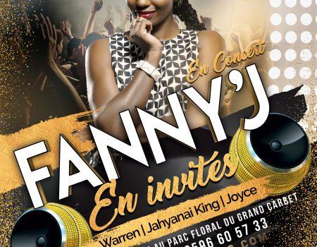 Fanny'J, son concert de Martinique