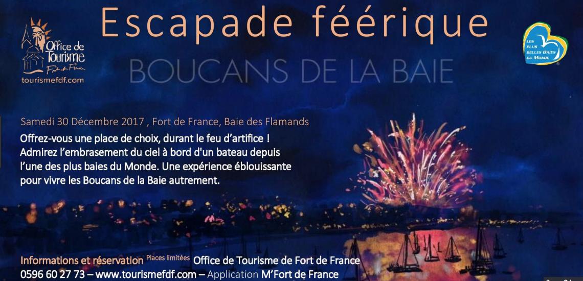 Fort de France sous les feux des « Boucans de la Baie ».