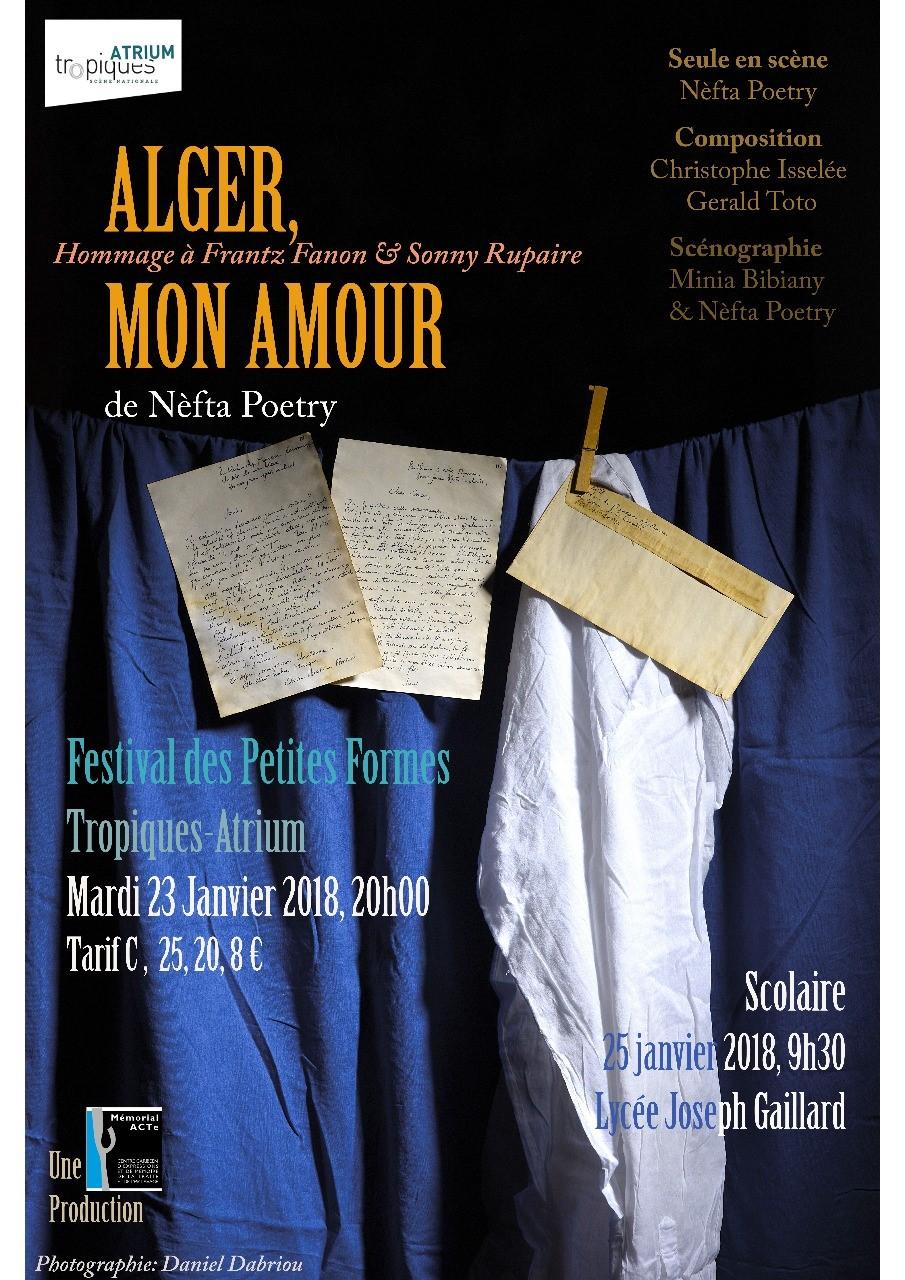 Alger mon amour, Festival des petites formes