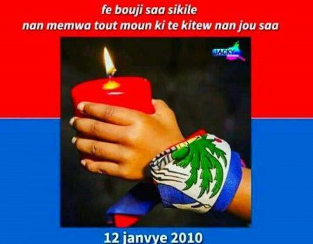 12 Janvier 2010-12 Janvier 2018 Haïti