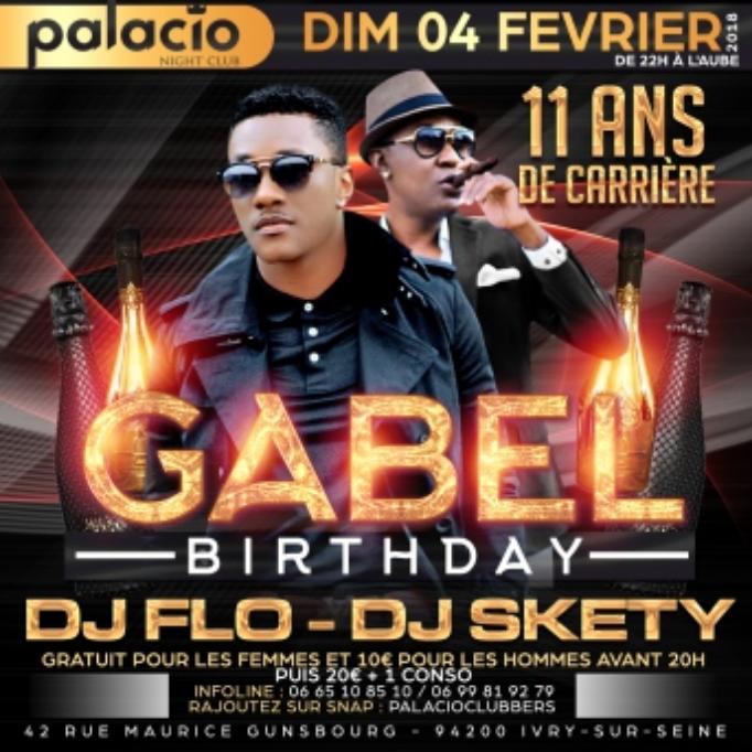 AU PALACIO GABEL EN CONCERT LIVE  –  PARIS