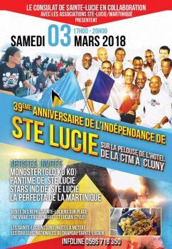 Indépendance de Sainte Lucie, la fête…