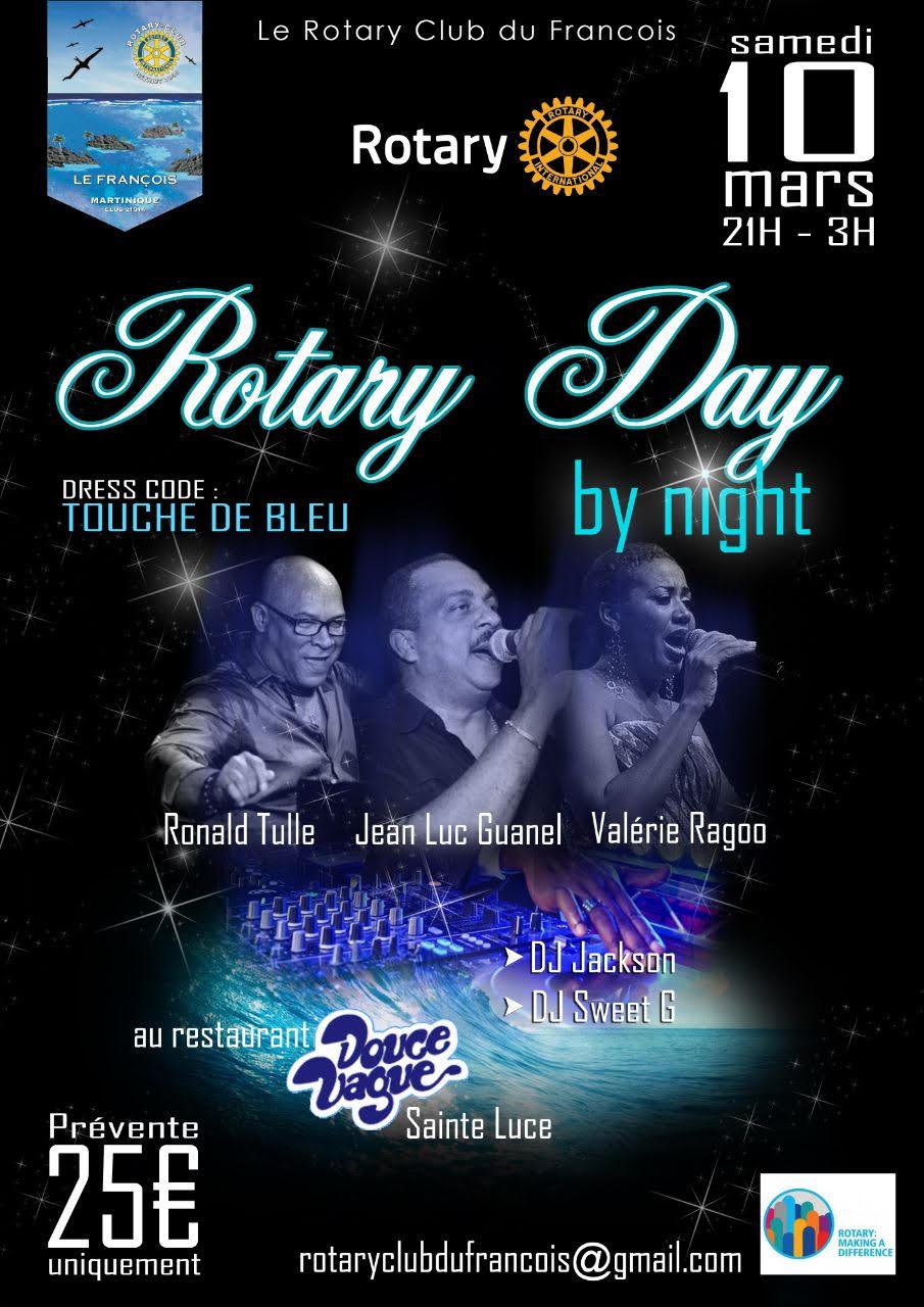 Le Rotary day finit en musique