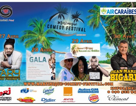 Martinique Comedy Festival annulé