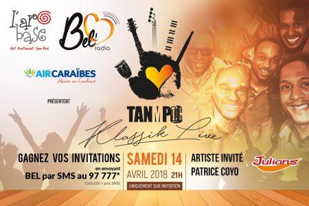 Tanmpo & Patrice Coyo à l'@robase
