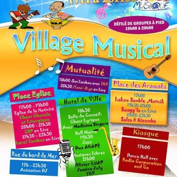VillageMusical: Martinique