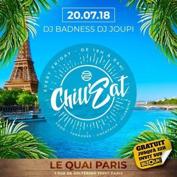 ChillEat: Paris