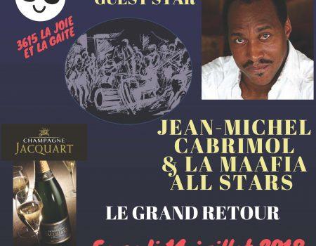 Au Zipp's Club Jean-Michel Cabrimol et la Mafia All Star – Agenda Martinique