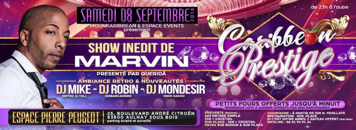 La Caribbean Prestige Bis le 3 Novembre AVEC MARVIN