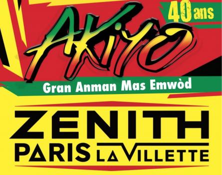 Les 40 ans d'Akiyo au ZENITH DE PARIS – Le 3 novembre