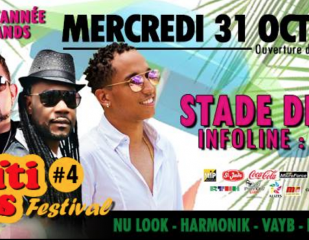 HAITI COMPAS FESTIVAL –  MERCREDI 31 OCTOBRE 2018 STADE DES ABYMES