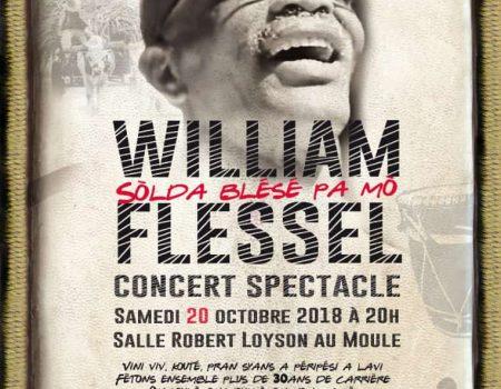 William Flessel en concert spectable au Moule