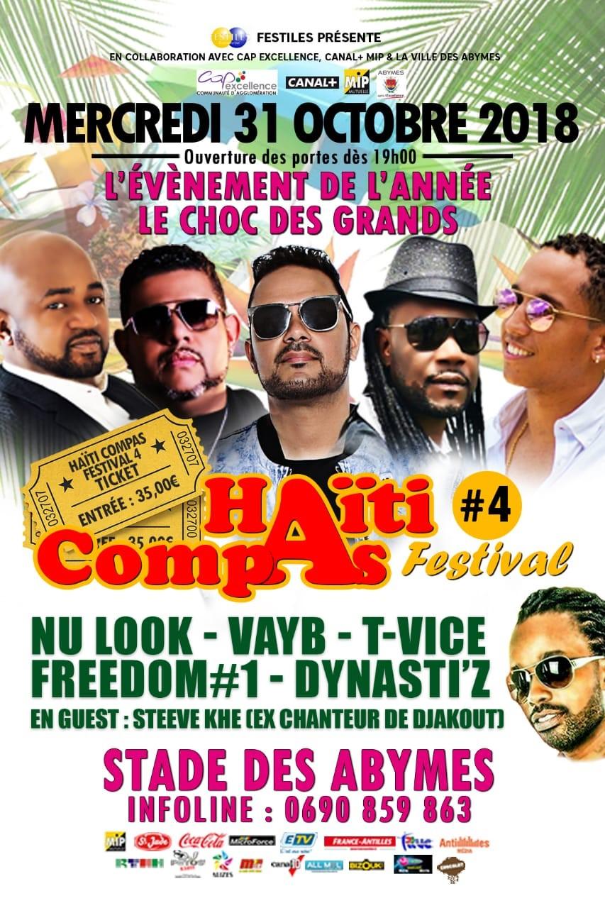 Un communiqué de l'organisateur du Festival de compas de Guadeloupe