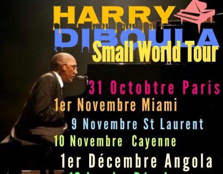 Harry Diboula ne renonce pas à son combat contre la maladie, il part en tournée !!