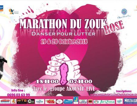 Le Premier marathon du Zouk en Octobre rose
