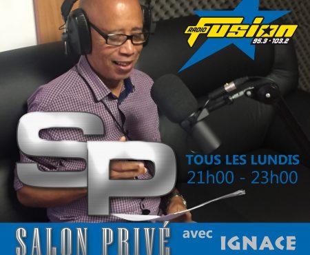 Nouveau! Nouveau sur Fusion «Salon privé» 95.3 et 103.2 FM en Martinique