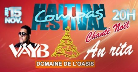 Du compa et on chante Noel. Le Festival compas en Martinique