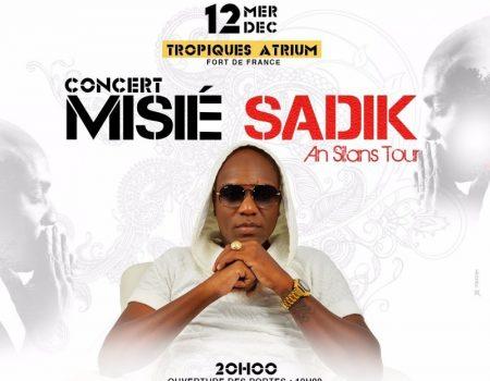 Misié Sadik va enflammer l'Atrium