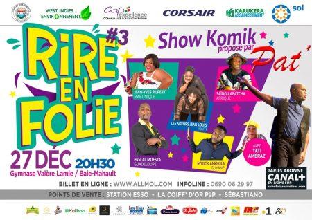 Rire en Guadeloupe, hihihi hahaha !!