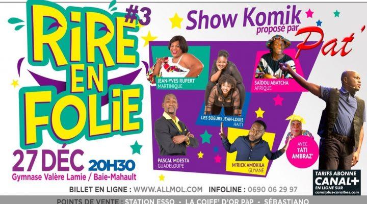 Rire en Guadeloupe, hi hi hi !!!