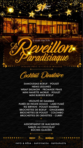 LaReveillonParadisiaque: Toulouse