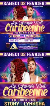 EN SHOW CASE : STONY & LYNNSHA  à l'EMPIRE CLUB DISCOTHÈQUE – Paris 2 février