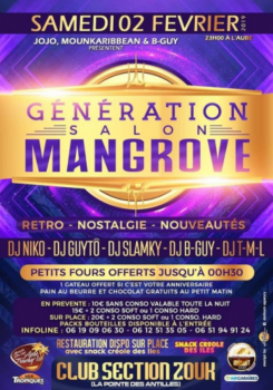 GÉNÉRATION SALON MANGROVE Acte IV – Paris 2 février