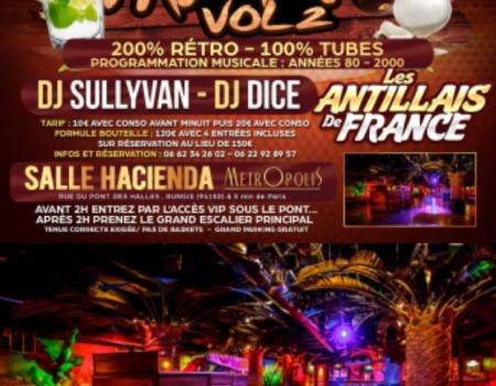 LA RETRO PARTY VOL°2 – SOIREE ANTILLAISE PARIS 30 AVRIL