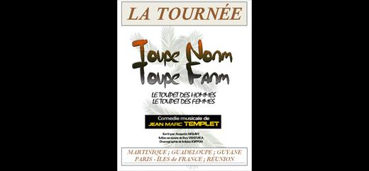 Après le succès de la comédie musicale « Fout sa rèd » sur la scène de la Cigale en 2009 à Paris Jean-Marc TEMPLET revient avec une nouvelle comédie musicale aux couleurs caribéennes