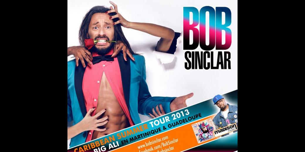 Bob Sinclar le DJ de renommée internationale pose ses platines en Guadeloupe et en Martinique pour le plaisir de tous !