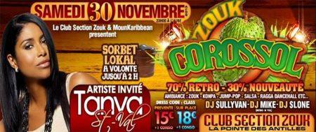 Club Section Zouk: «Zouk Corossol» – Soirée Antillaise Paris